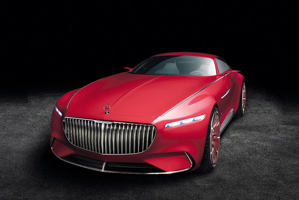 Vision Mercedes-Maybach 6