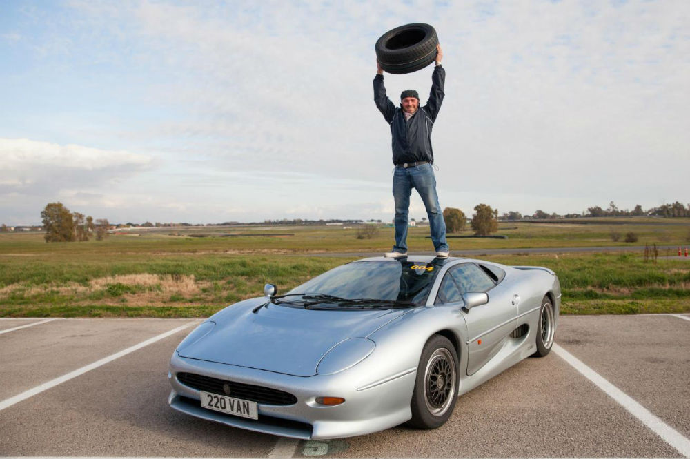 Justin Law celebrates the availability of the new tyre
