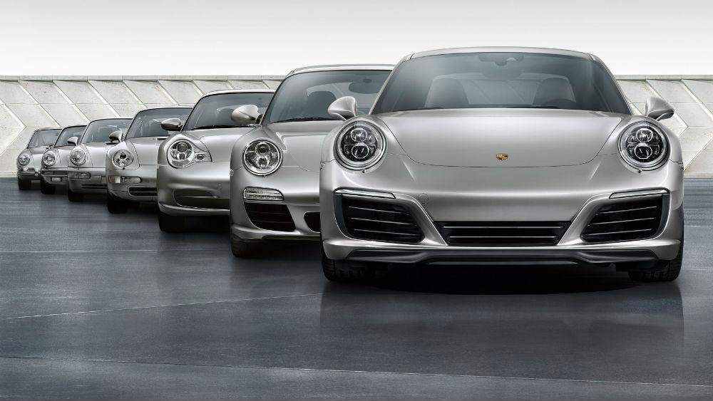 Porsche 911: revisitar 7 gerações