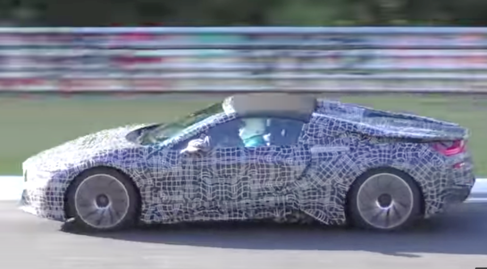 Novo Bmw I8 Spyder Em Nurburgring C Video Automais