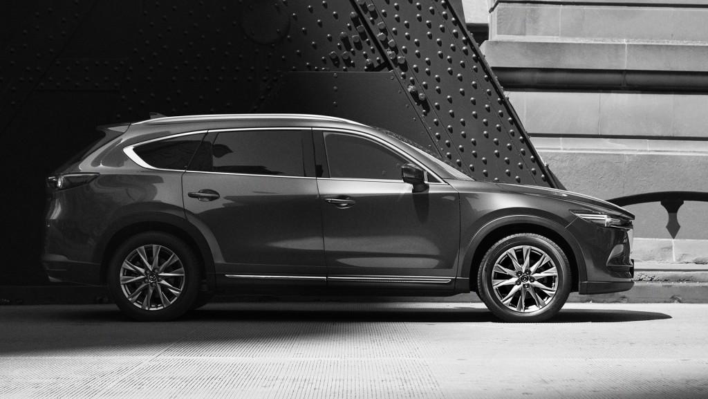 Revelada primeira imagem do novo Mazda CX-8