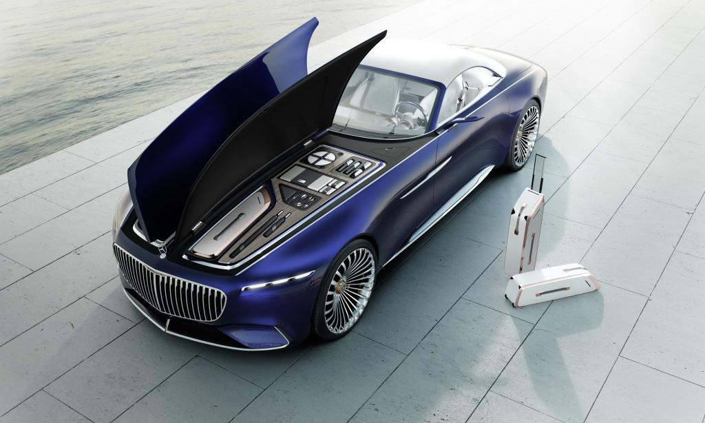 Vision Mercedes-Maybach Six Cabriolet faz furor em Pebble Beach