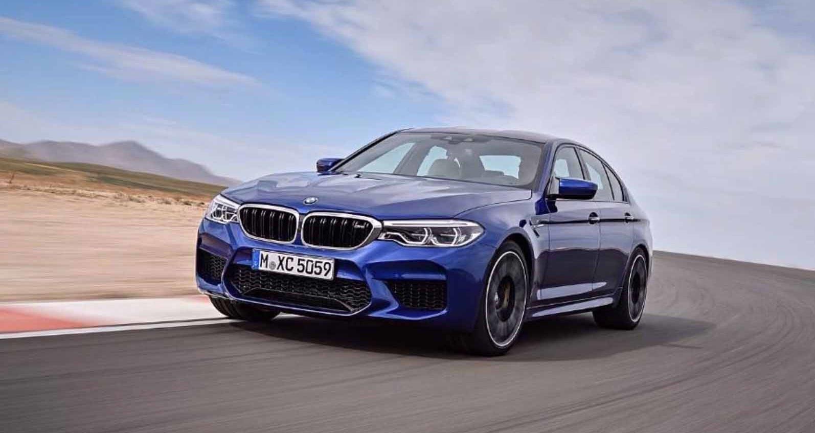 Novo BMW M5: Veja as fotografias