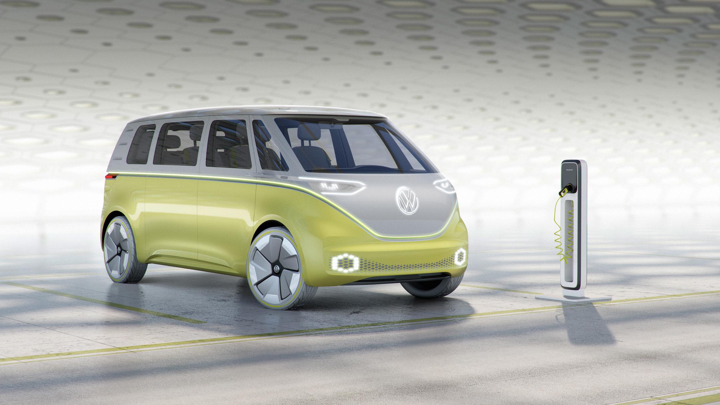 """Volkswagen: I.D. Buzz """"pão-de-forma"""" eléctrico poderá ser lançado em 2022"""