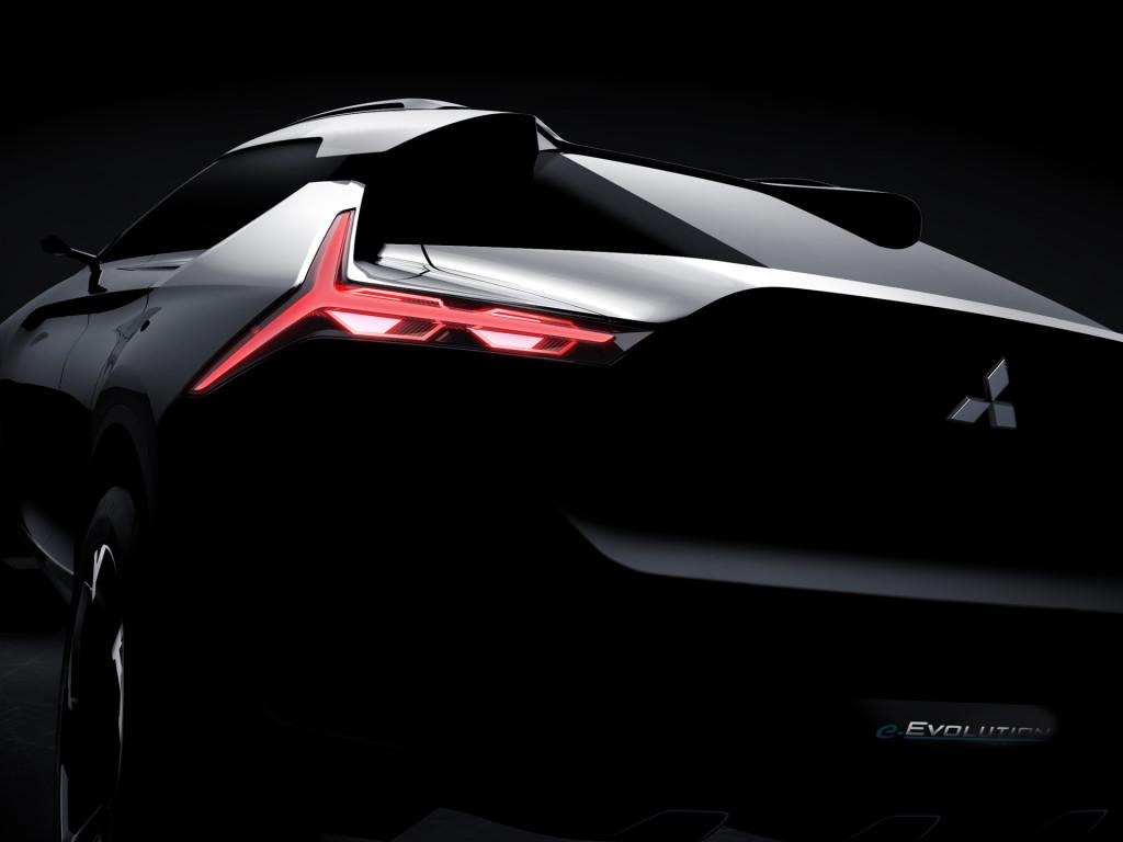 Primeiro vislumbre do Mitsubishi e-Evolution Concept thumbnail