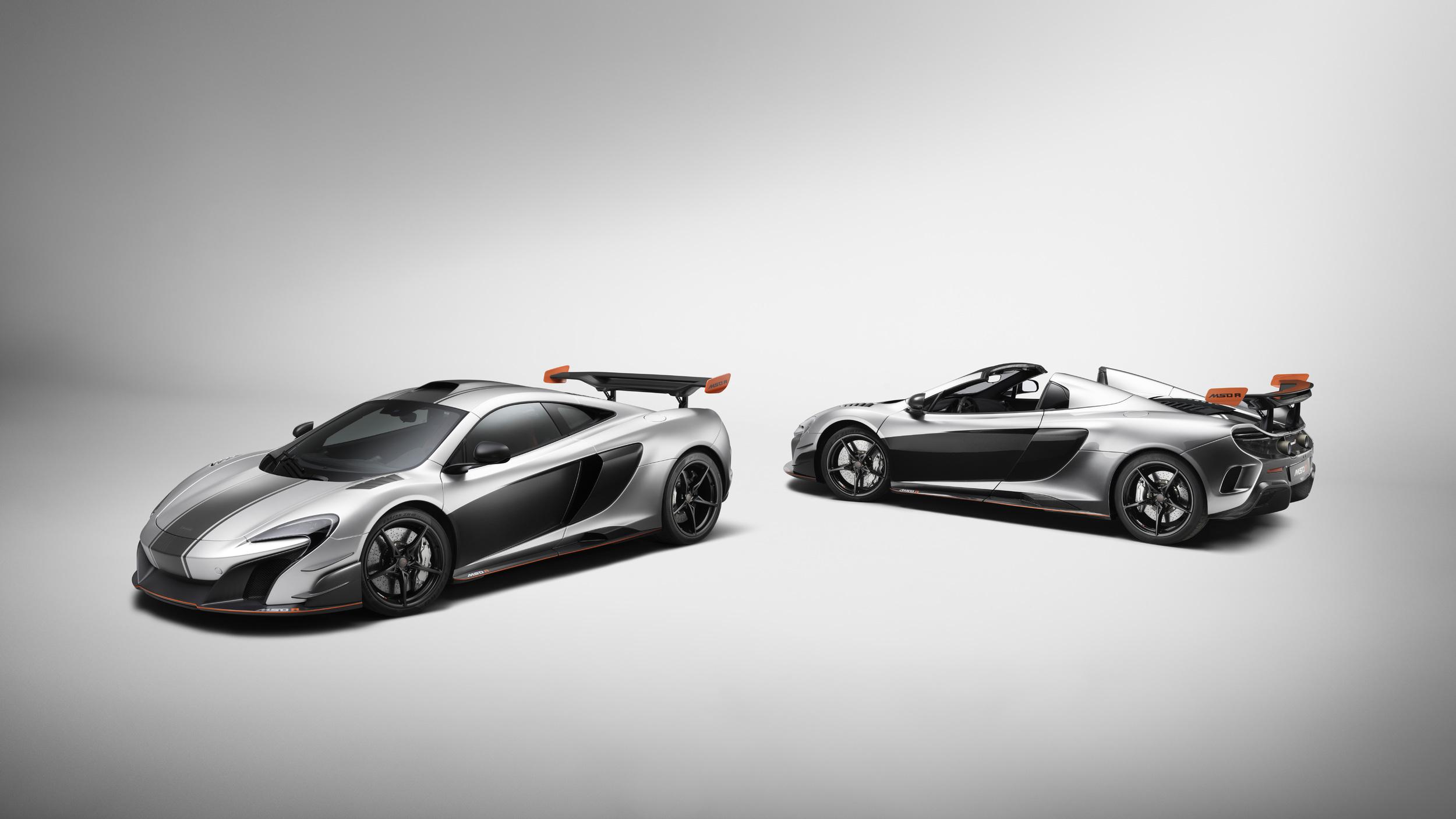 McLaren Special Operations produz dois modelos únicos