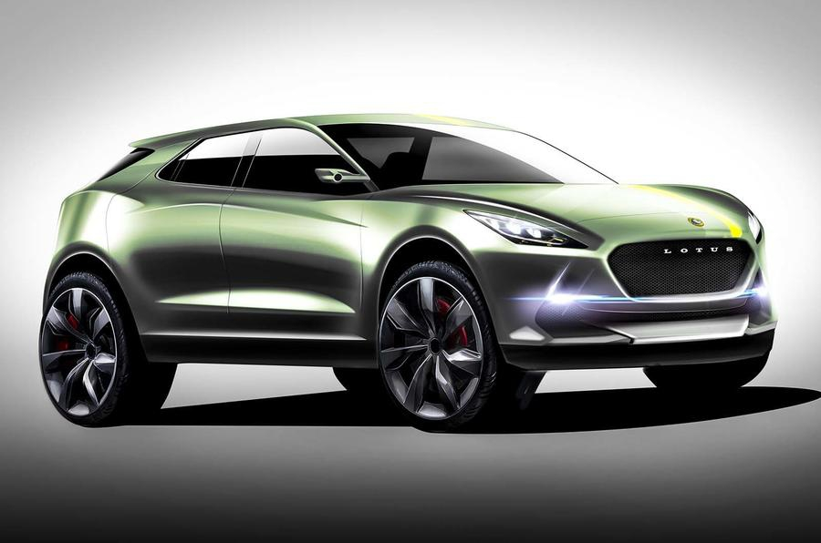 A Lotus vai produzir um SUV