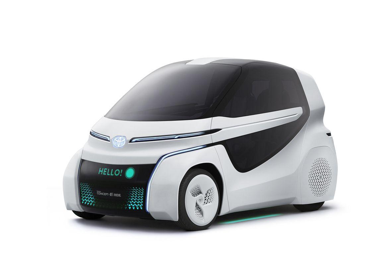 Protótipo da Toyota para quem sofre de mobilidade reduzida