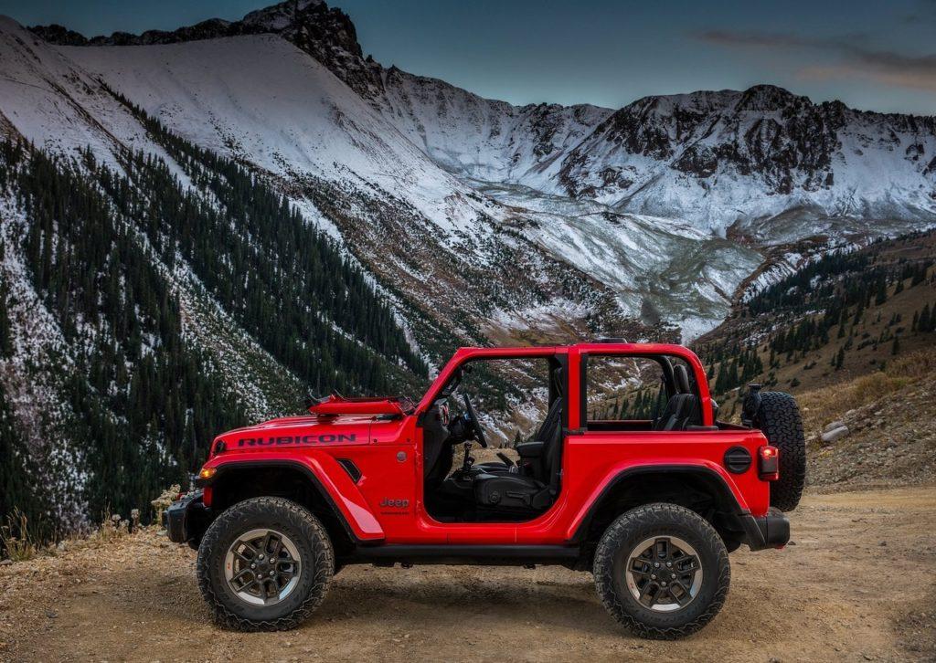 Primeiras imagens oficiais — Novo Jeep Wrangler