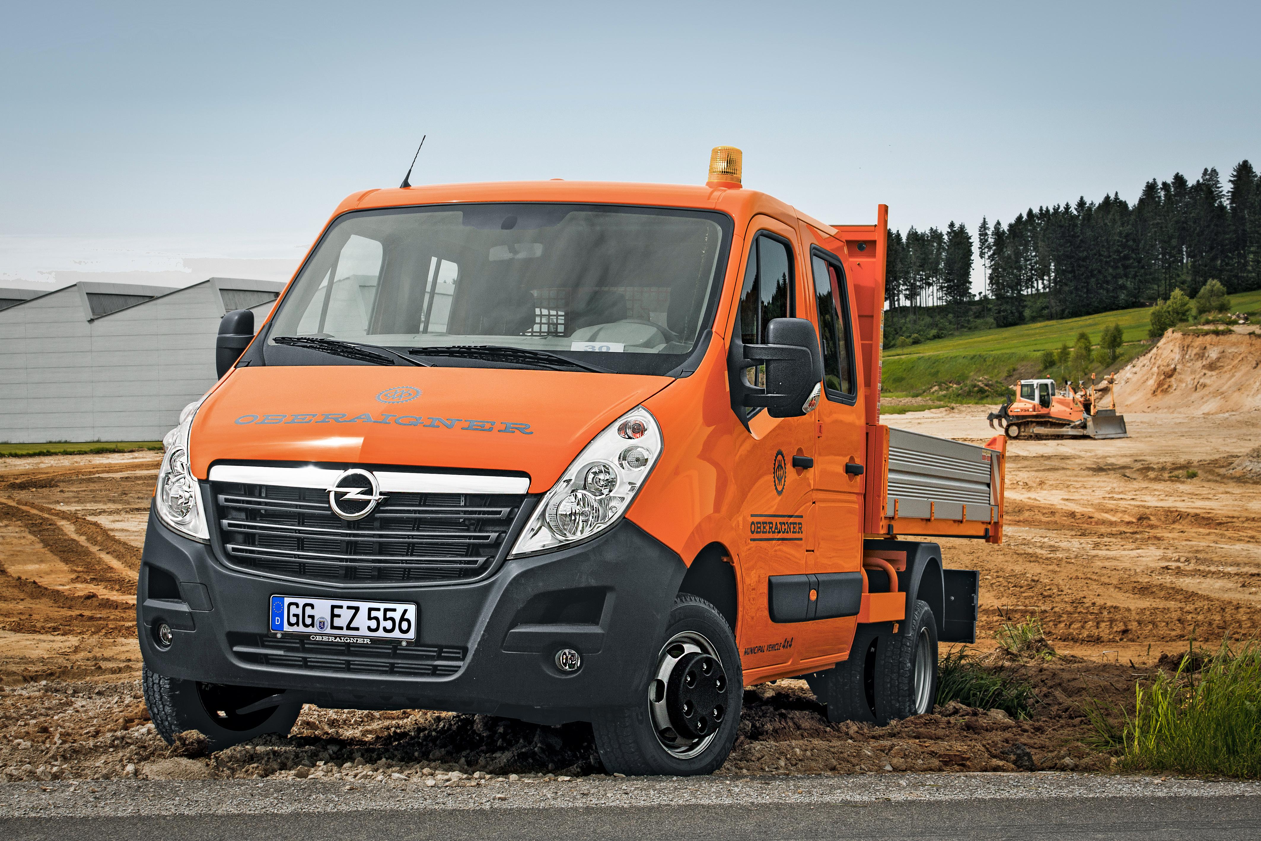 Opel Combo, Vívaro e Movano: transformações à medida