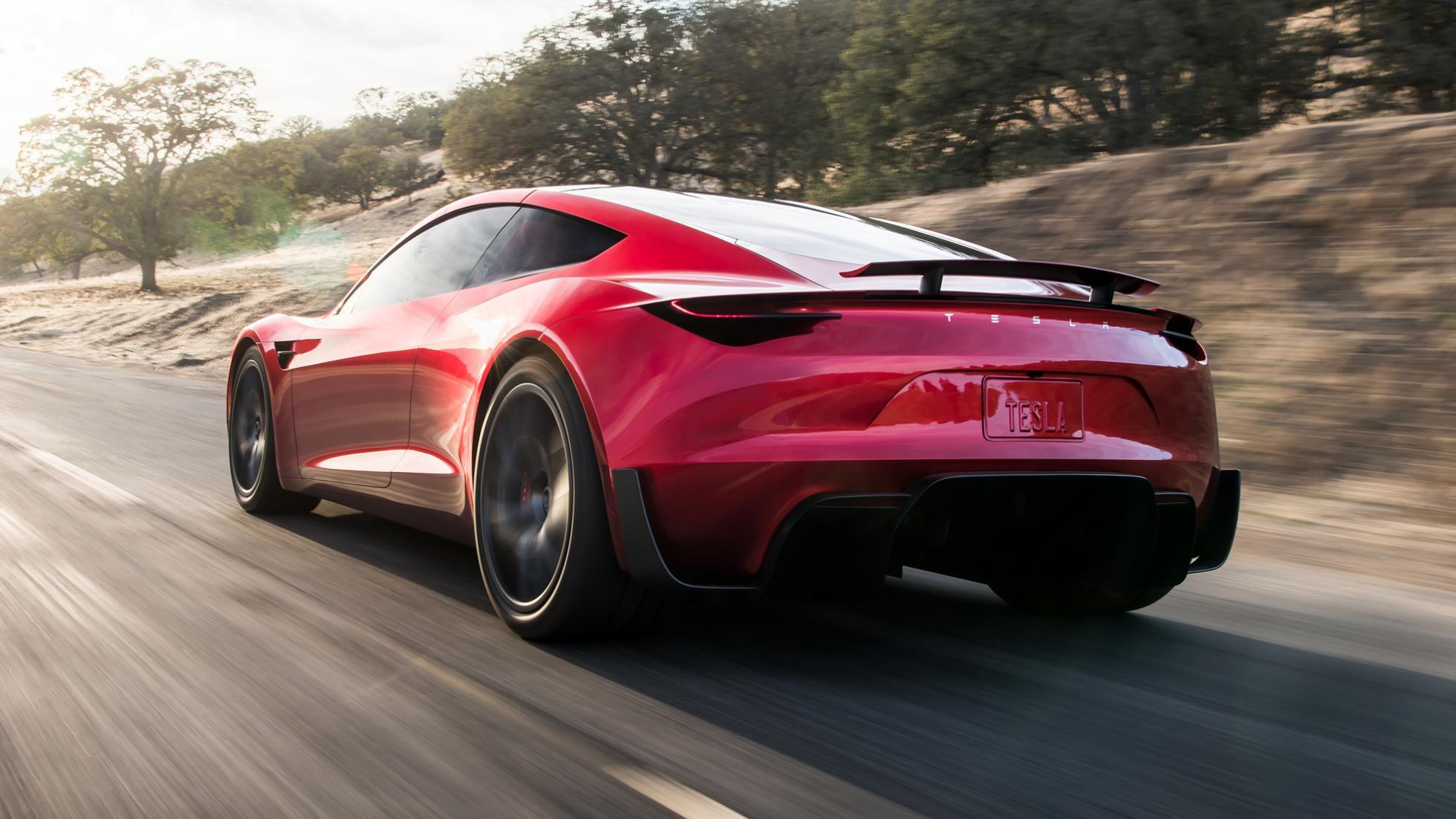Tesla apresenta novo Roadster que será o carro mais veloz do mundo
