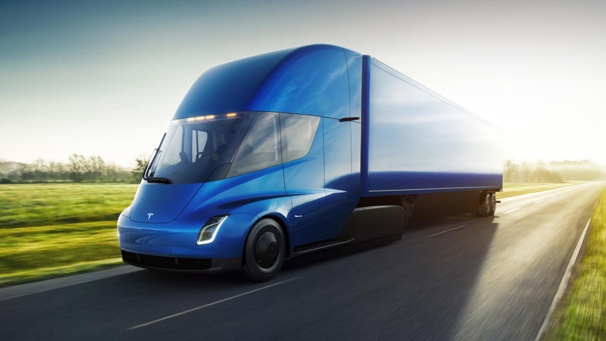 A Tesla revelou o seu camião eléctrico, o Tesla Semi