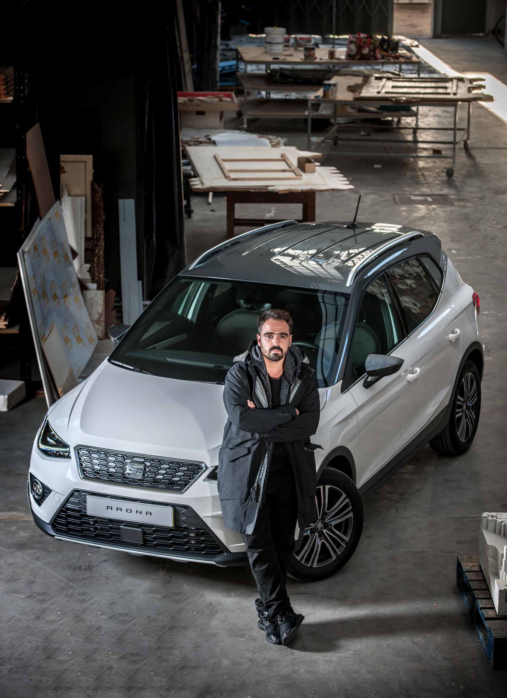 VHILS colabora com a Seat para promover o novo SUV Arona thumbnail