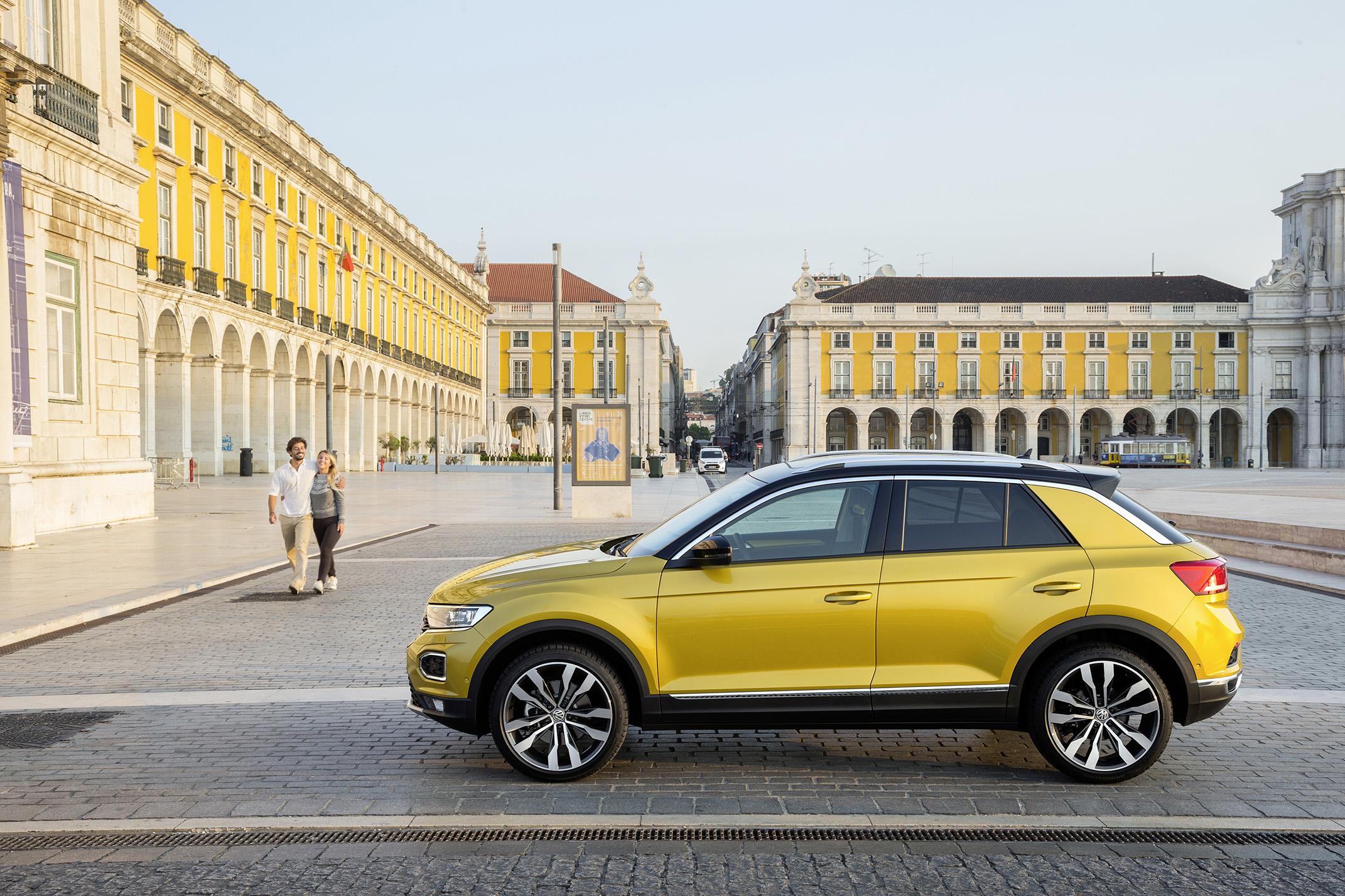 Volkswagen Polo e T-Roc obtêm classificação máxima nos testes do Euro NCAP