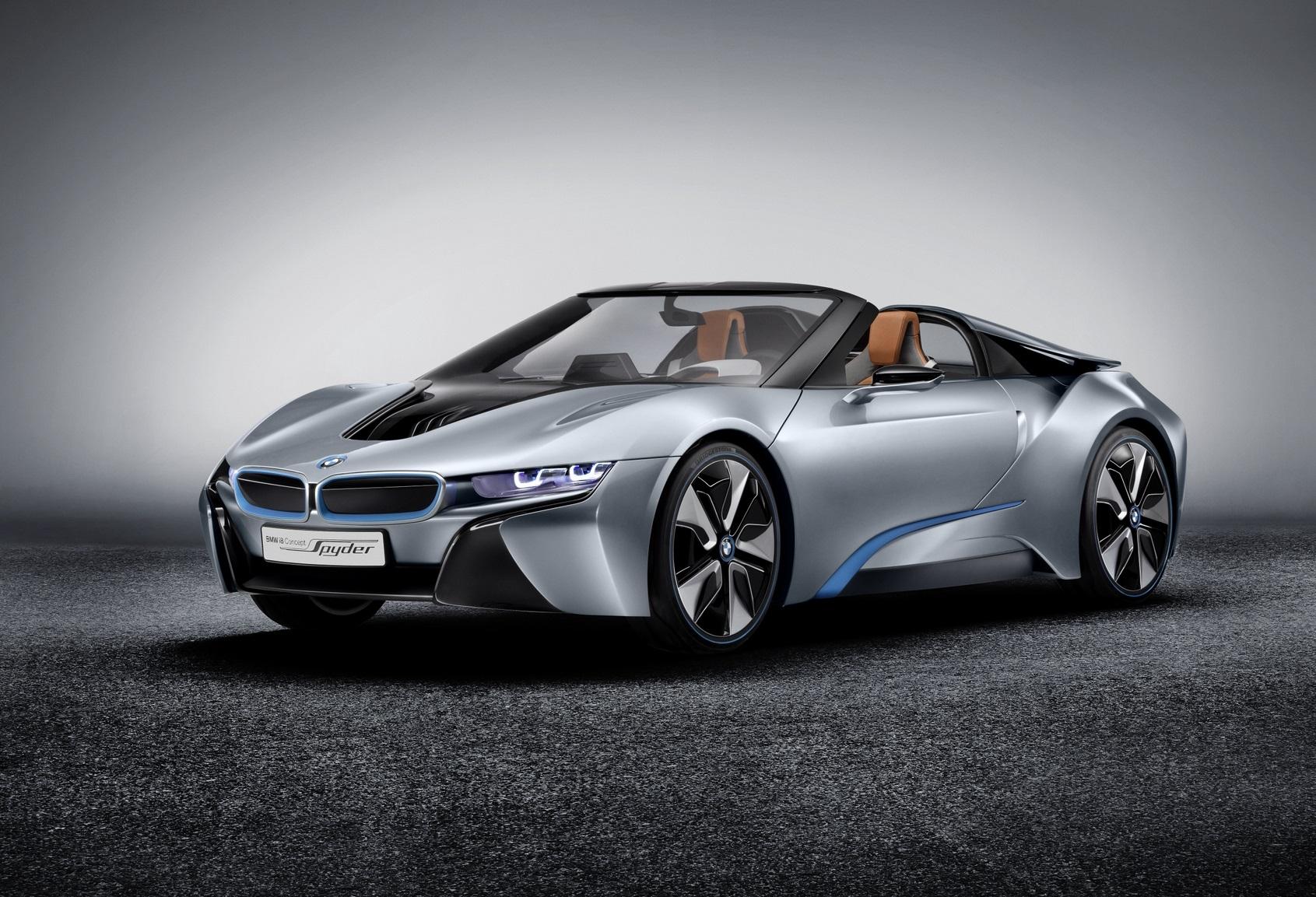 Novos detalhes do BMW i8 Roadster a poucos dias da sua apresentação