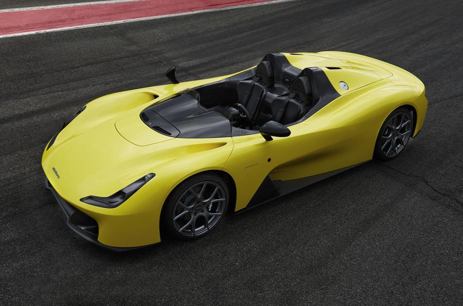 A Dallara apresentou o seu primeiro desportivo de estrada, o Stradale