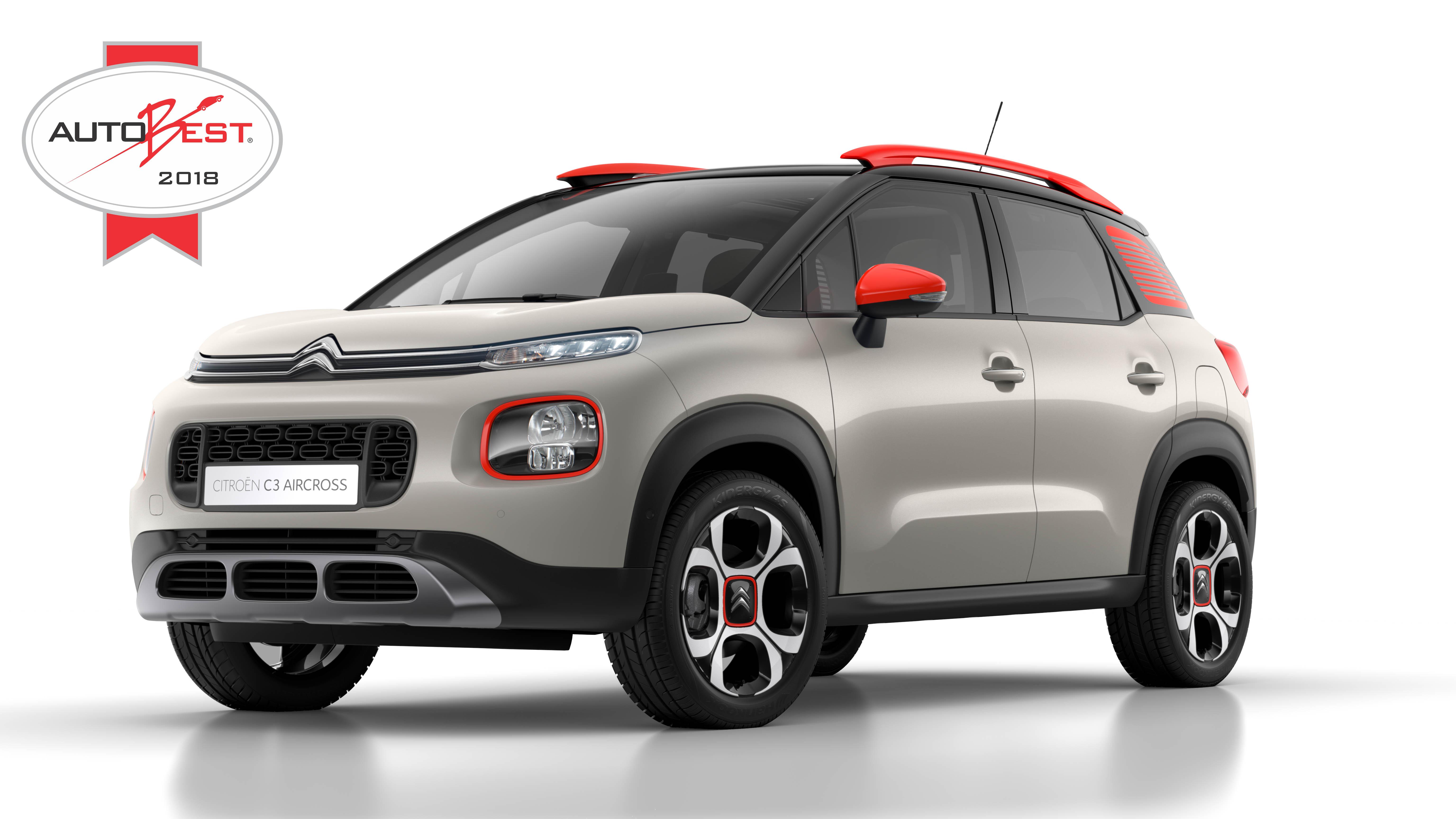 Citroën C3 Aircross vence prémio Autobest 2018