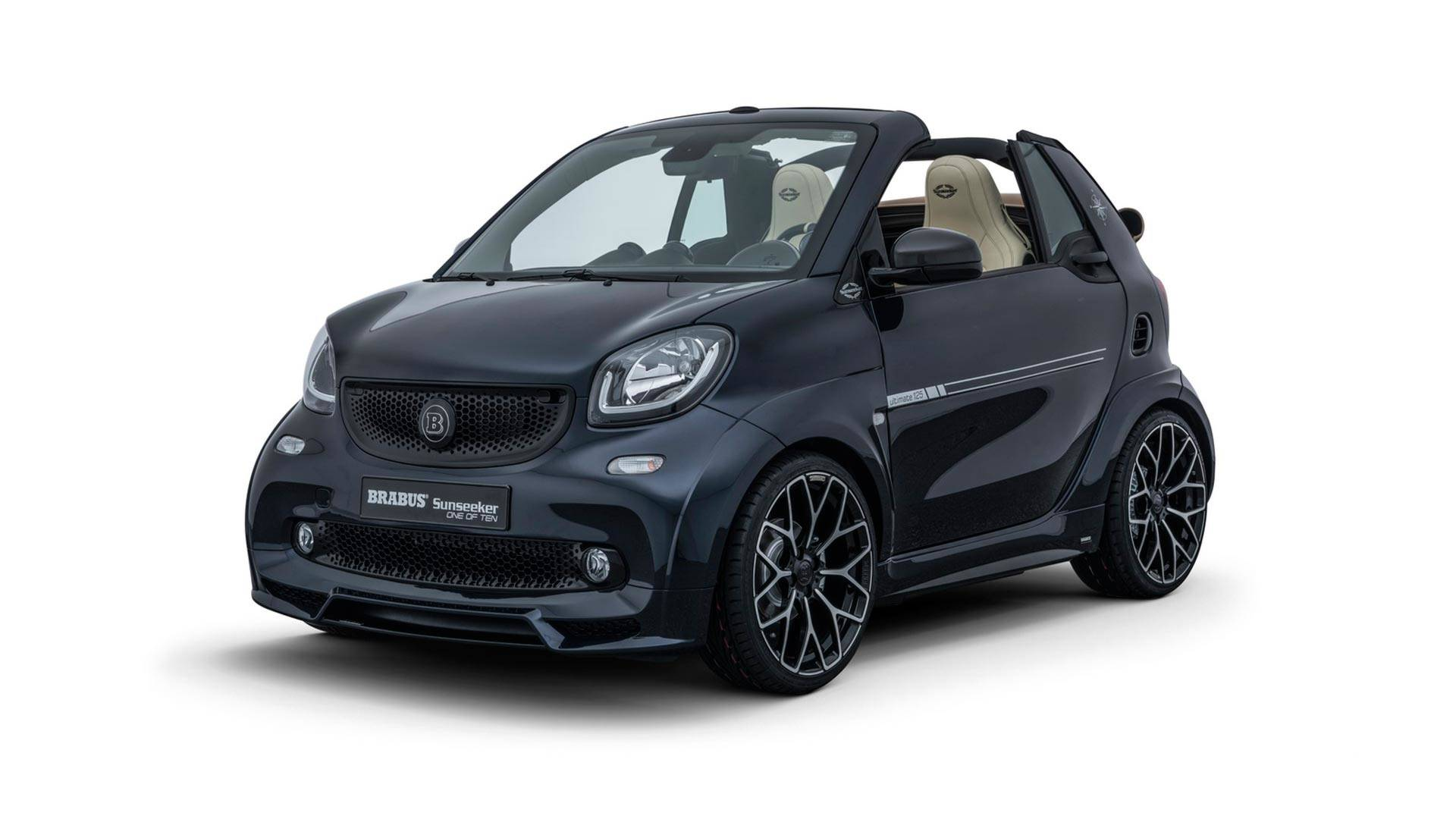 brabus lan a smart fortwo sunseeker automais. Black Bedroom Furniture Sets. Home Design Ideas