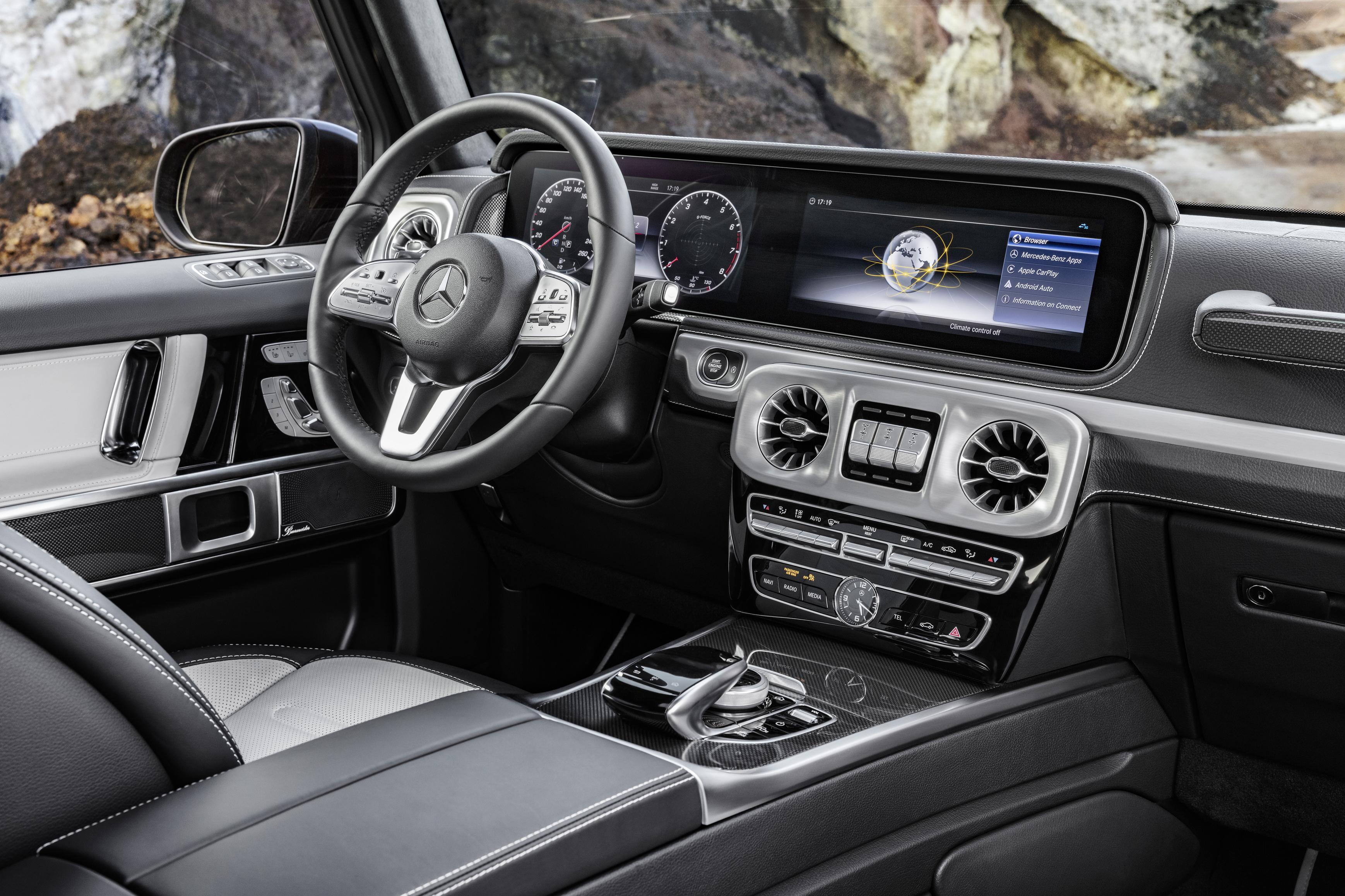 Novo Mercedes-Benz Classe G com interior atualizado