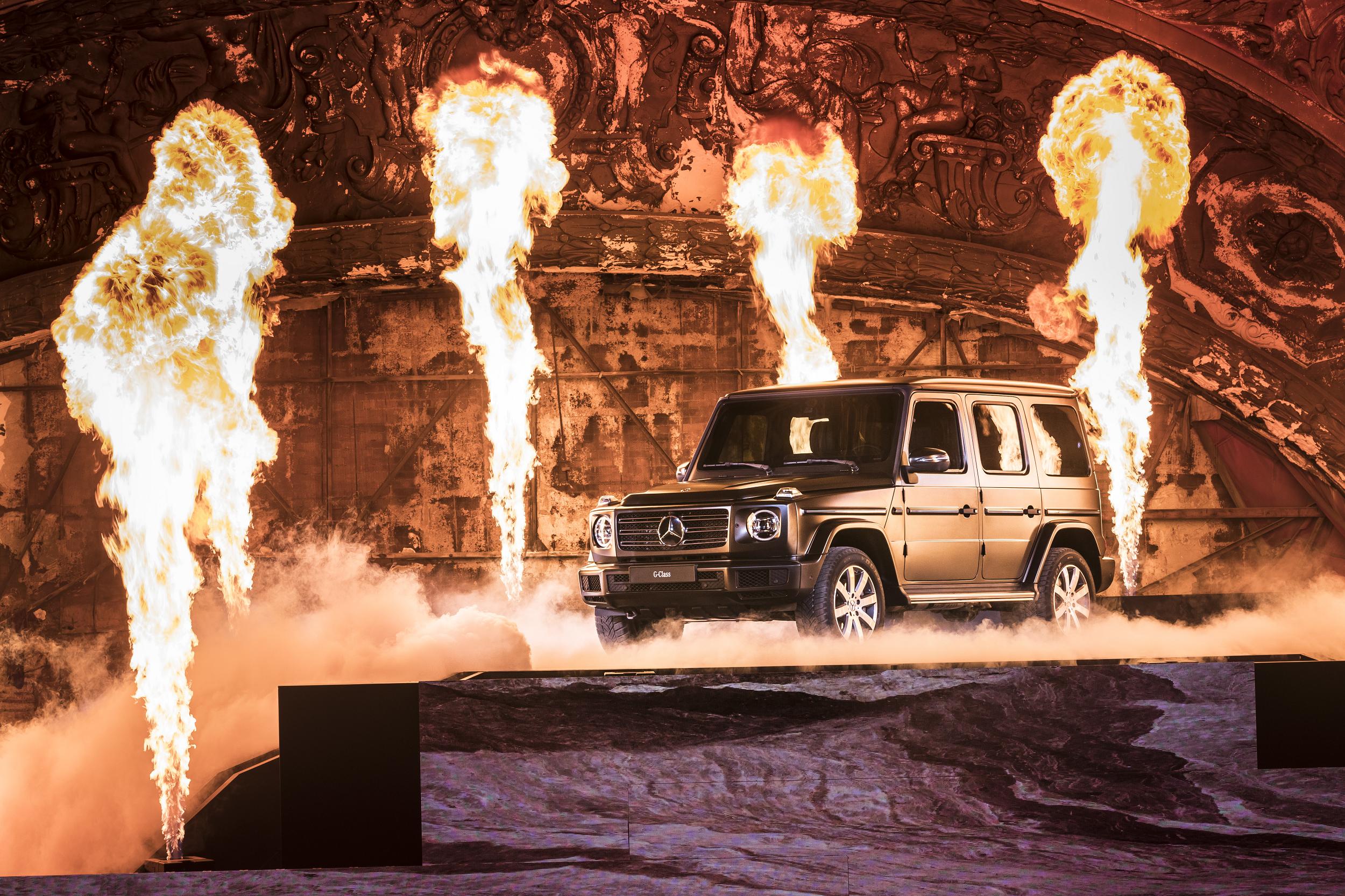 Novo Mercedes-Benz Classe G apresentado em Detroit