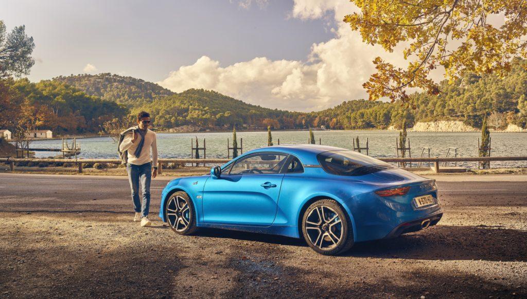 2017 – ALPINE A110 drive tests in Aix-en-Provence region