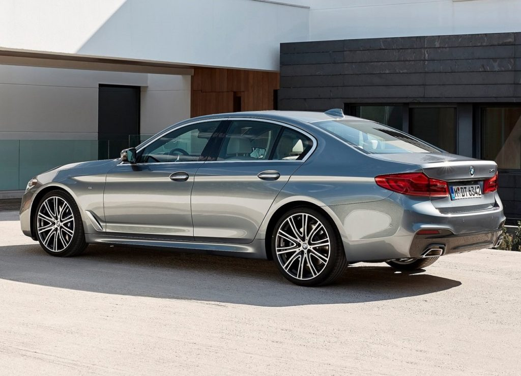 BMW 5-Series (2017) Trás