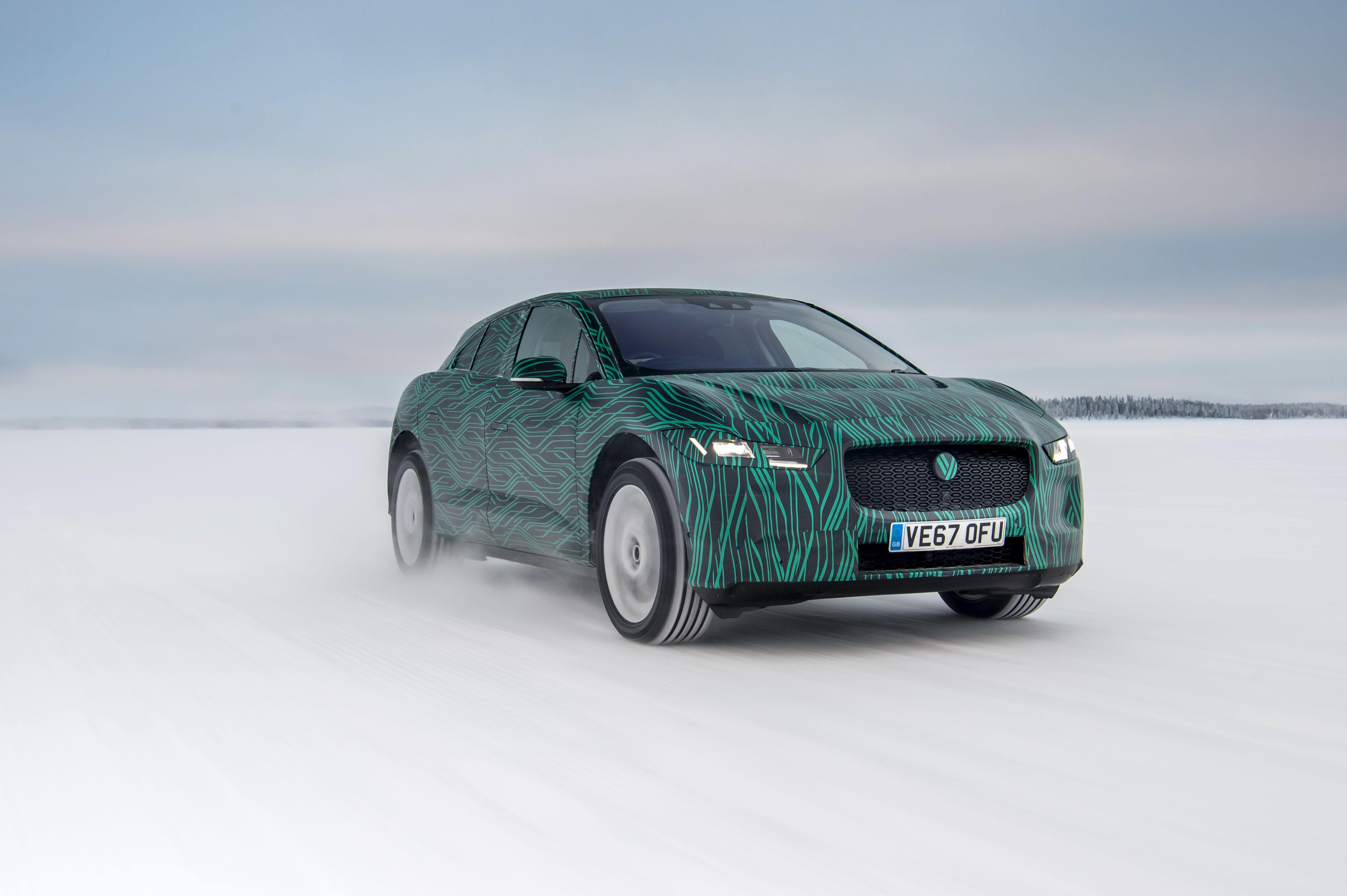 Jaguar I-Pace EV será lançado como o primeiro elétrico da marca