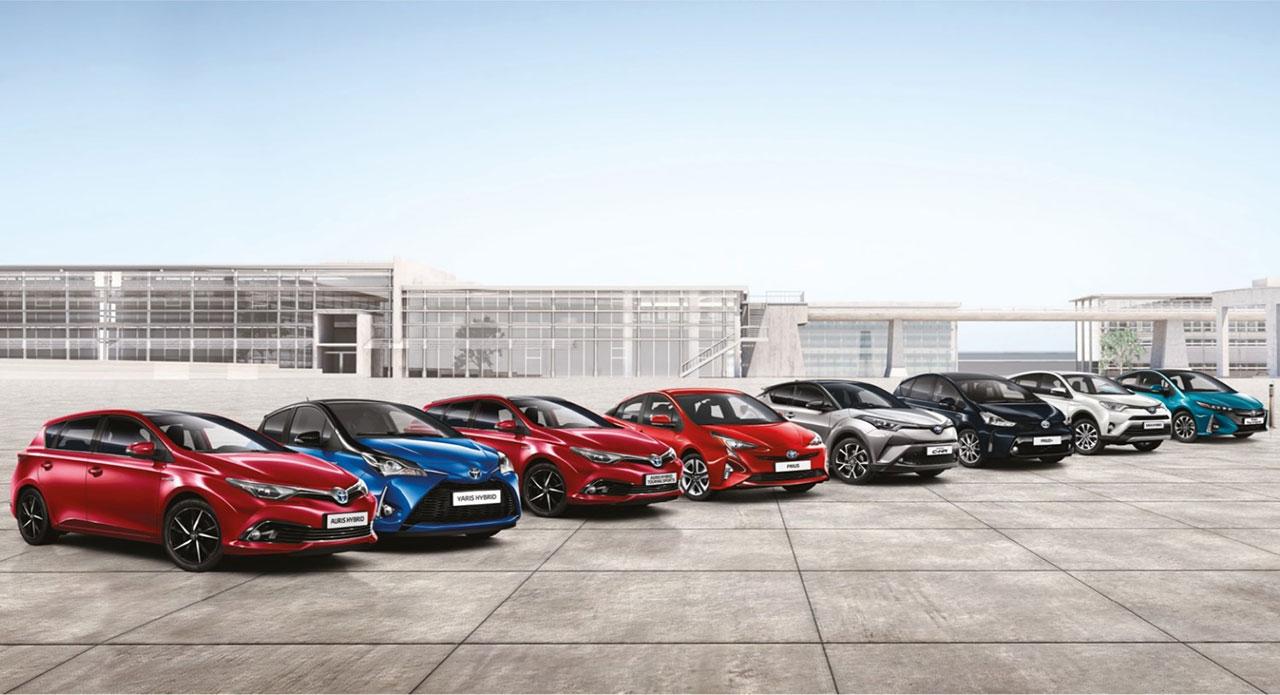 Toyota reforça liderança no segmento de veículos eléctricos em Portugal
