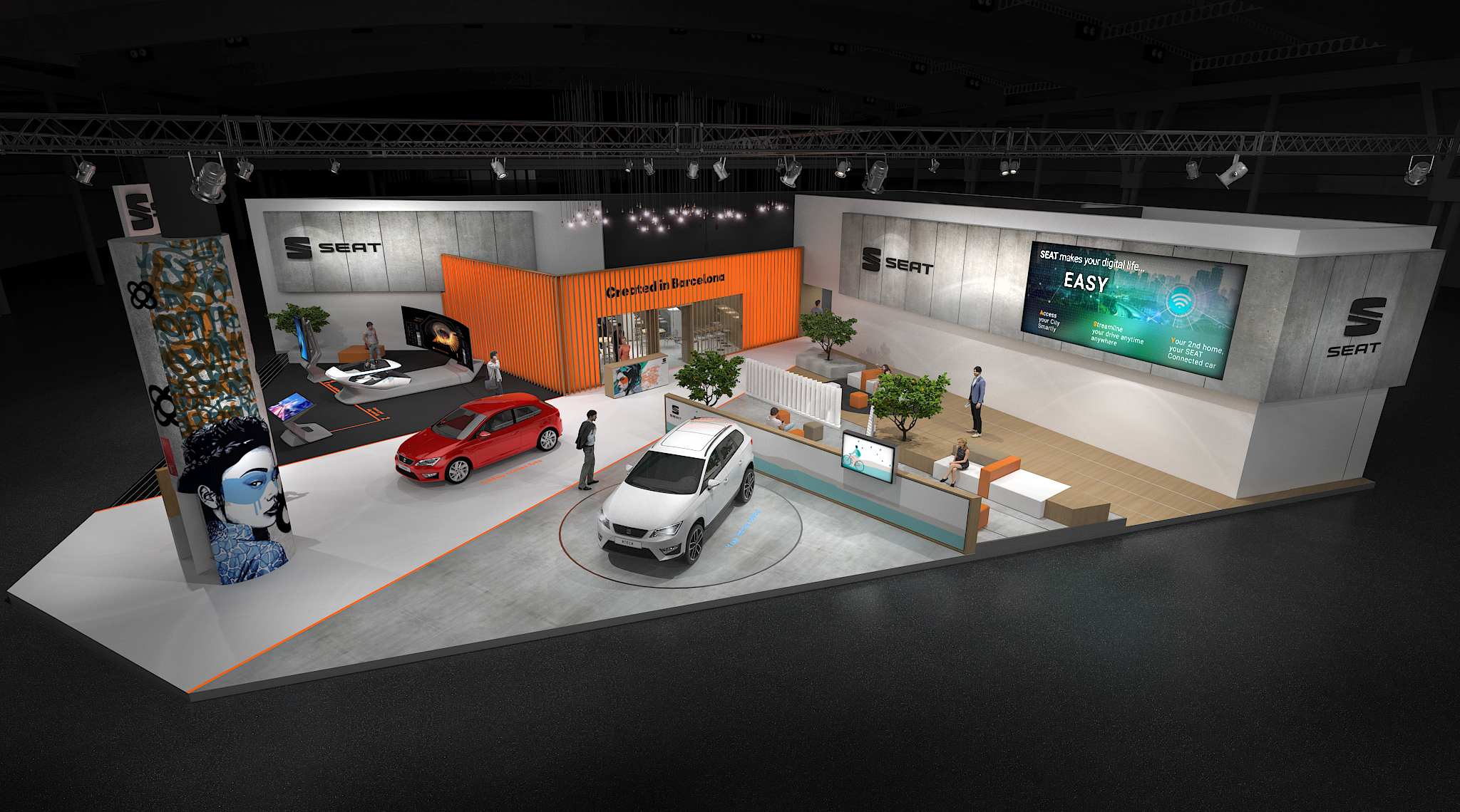 Seat desvenda o presente e o futuro do automóvel no Mobile World Congress