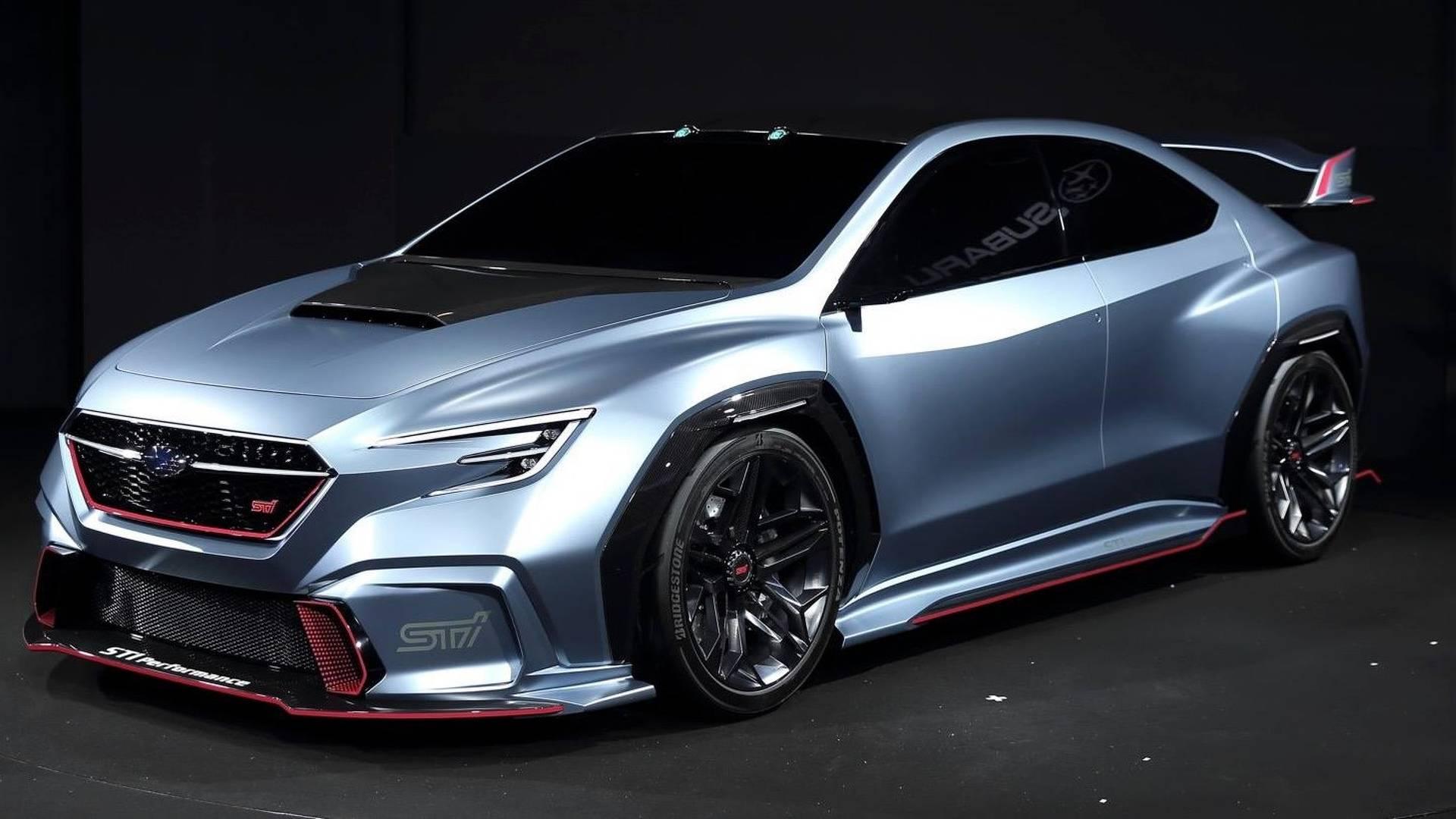 Subaru Viziv Performance Sti Concept Uma Antevis 227 O Do