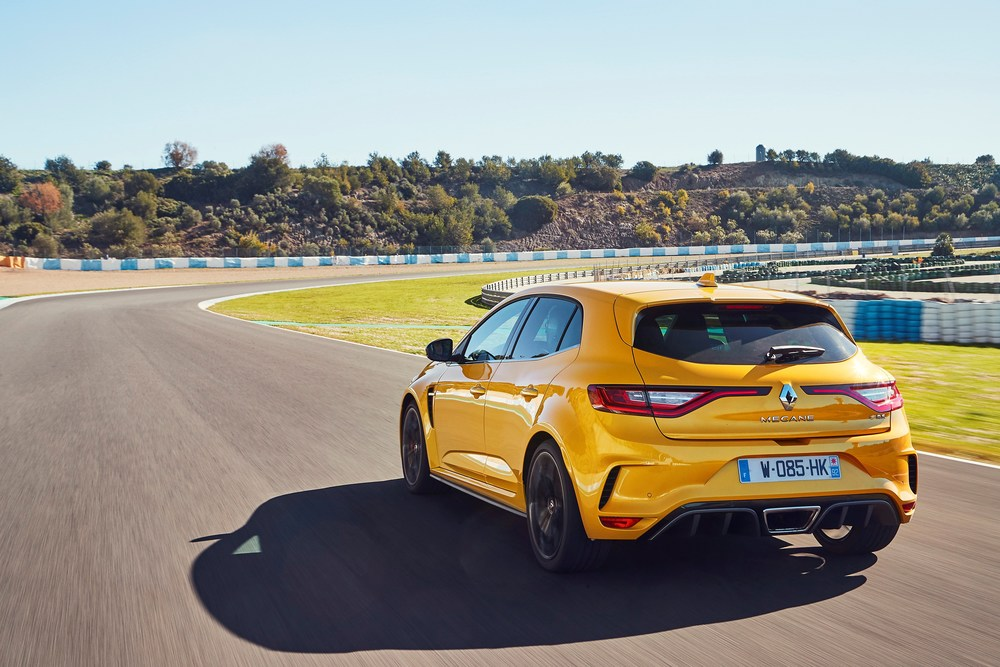 2018 – New Renault MEGANE R.S. Cup chassis tests drive in Spain