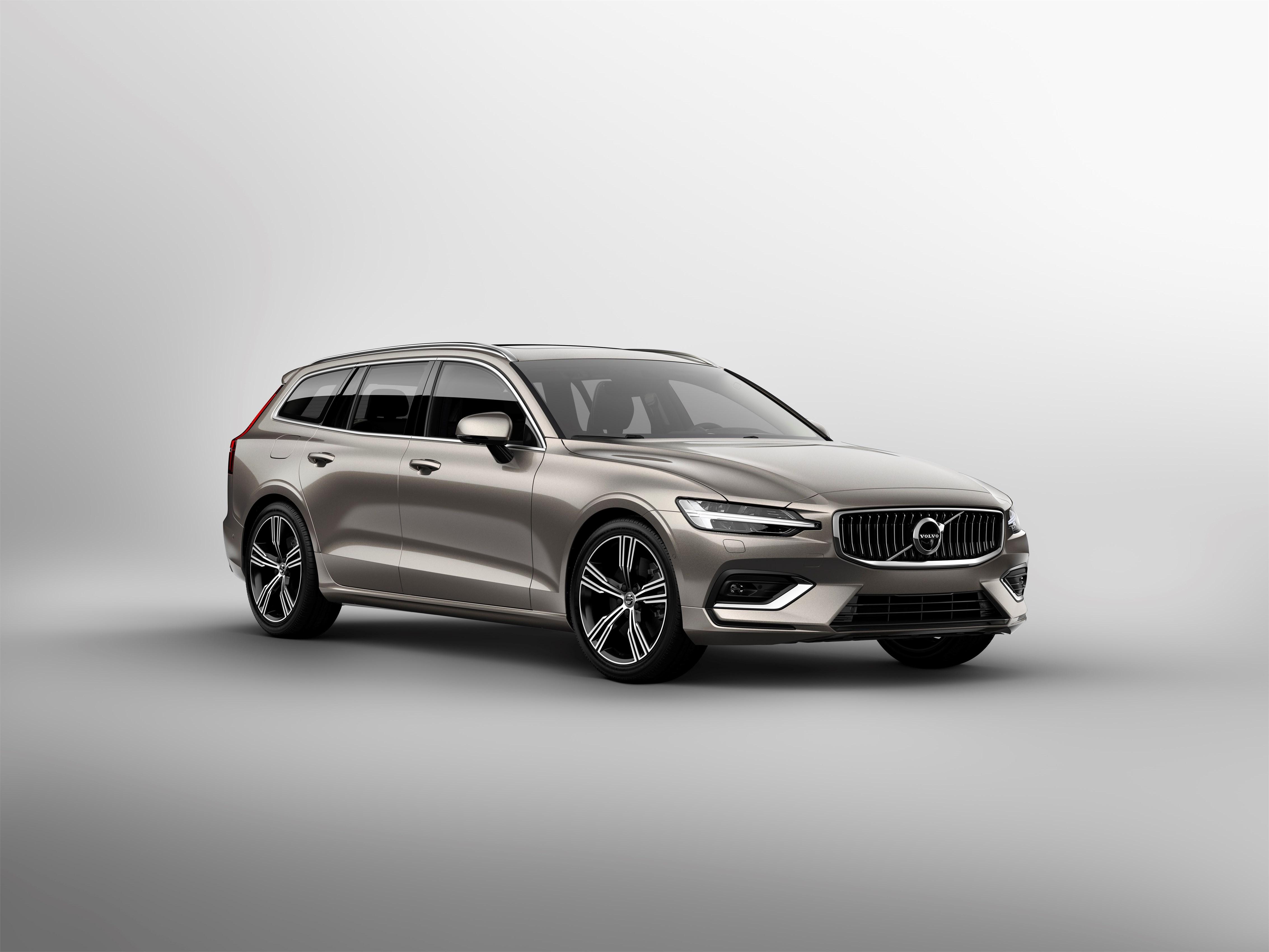 Conheça a nova carrinha Volvo V60