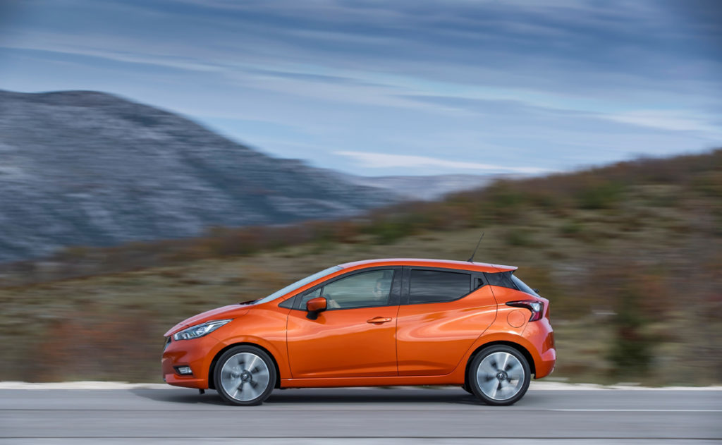 All-New Nissan Micra – Energy Orange
