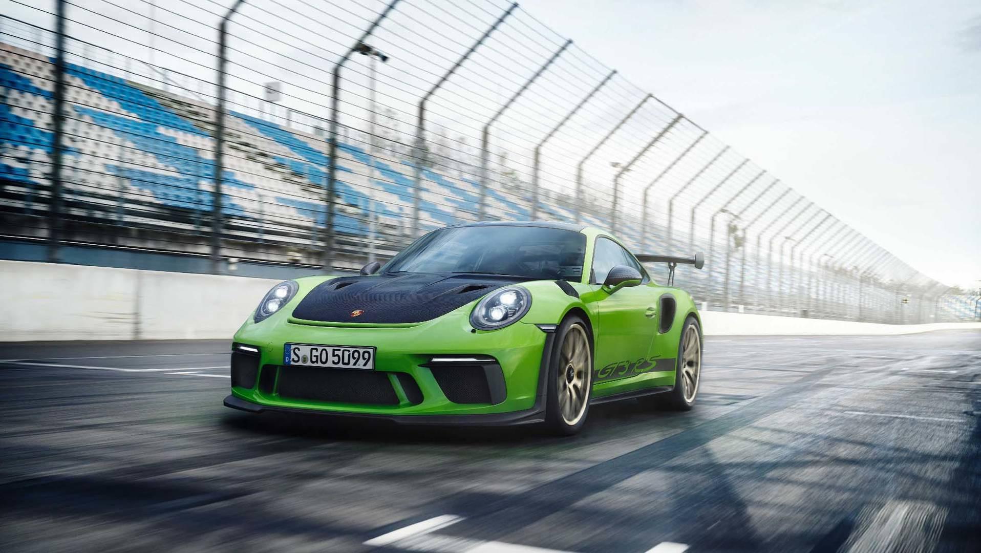 Novo Porsche 911 GT3 RS chega em Abril