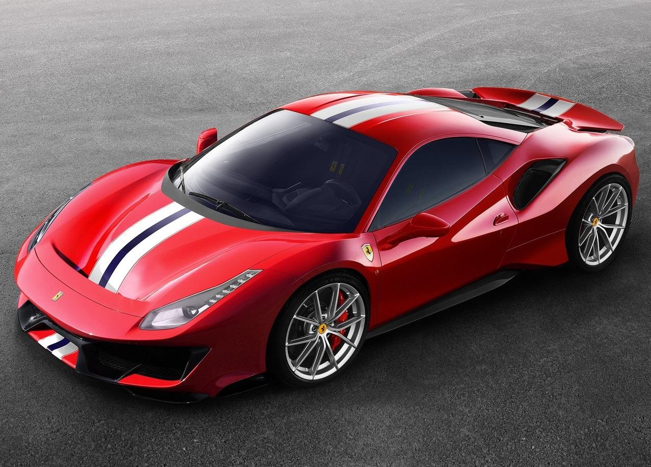 Novo 488 Pista, o Ferrari V8 mais potente de sempre