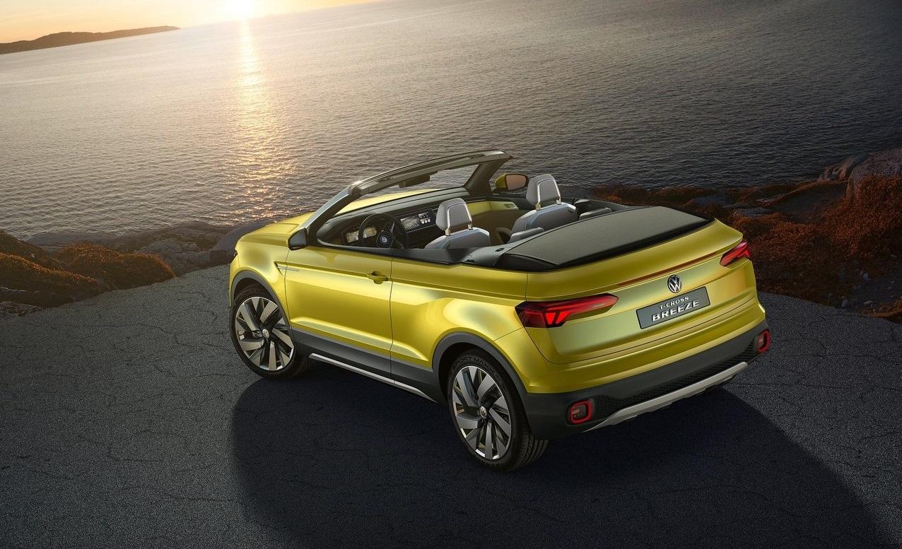Volkswagen T-Roc Cabrio previsto para 2020