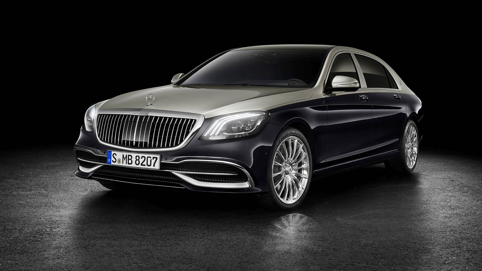 Mercedes-Benz renova ultra luxuoso Maybach Classe S