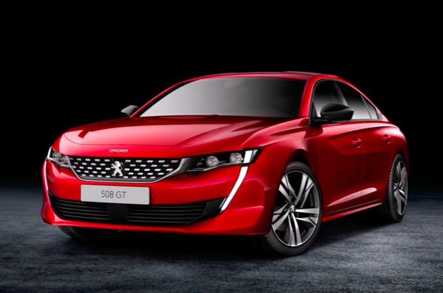 Novo Peugeot 508 revelado antes da sua apresentação no Salão de Genebra