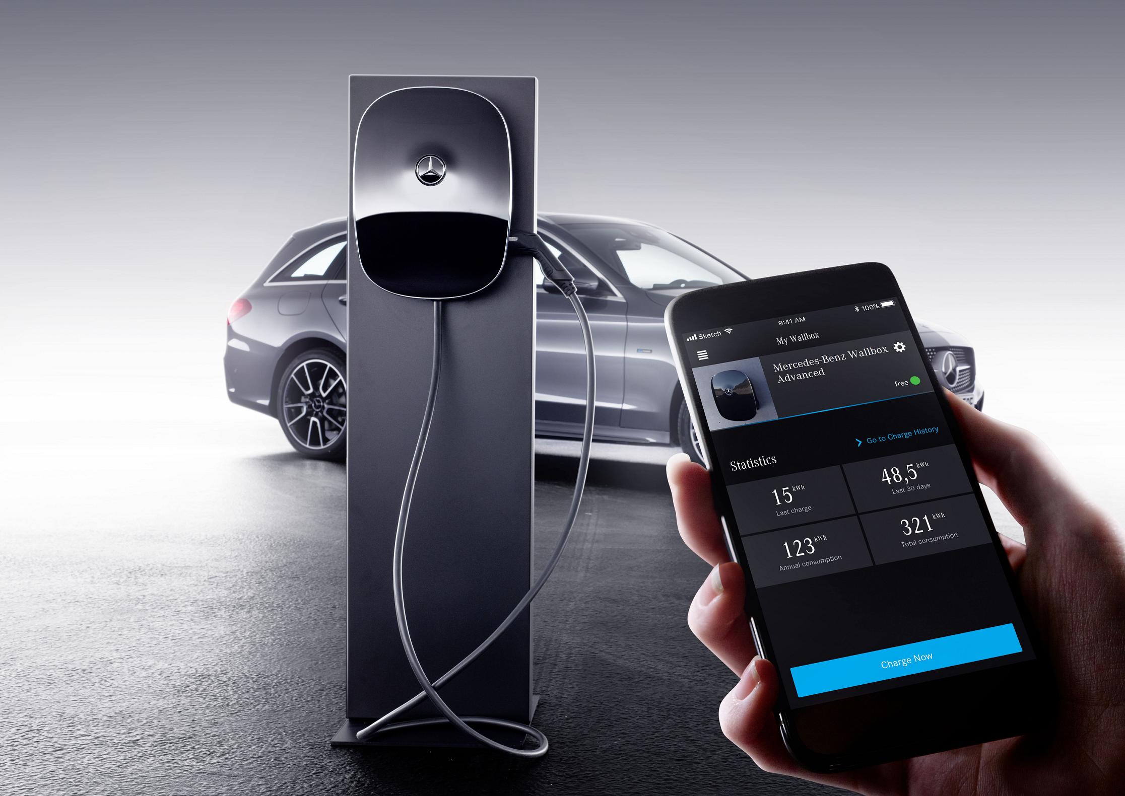 Nova wallbox da Mercedes-Benz facilita carregamento de veículos elétricos e híbridos