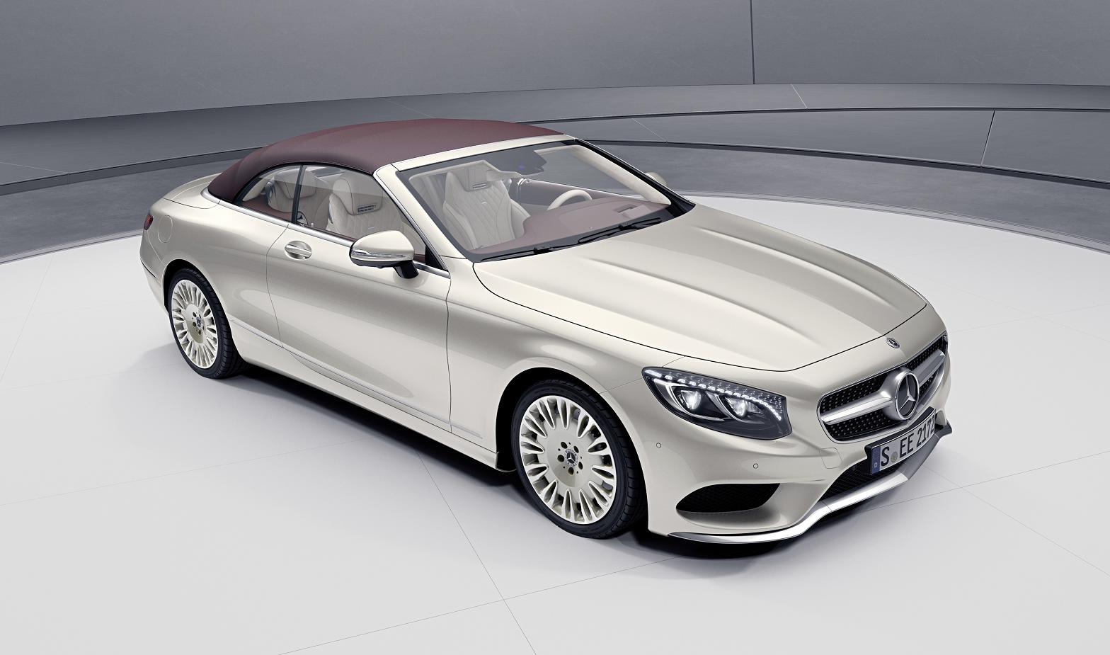 Mercedes-Benz apresenta novos modelos especiais Classe S Coupé e Cabrio