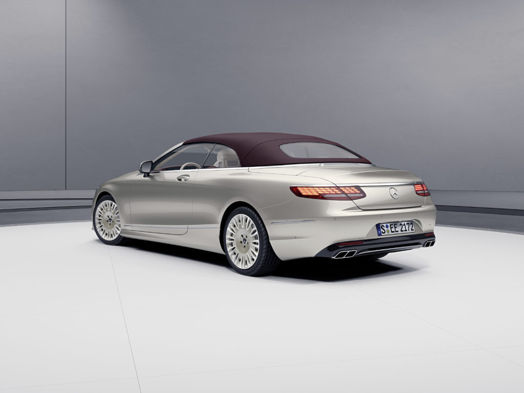 Neue Sondermodelle des S-Klasse Coupés und Cabriolets: Traumwagen im Doppelpack