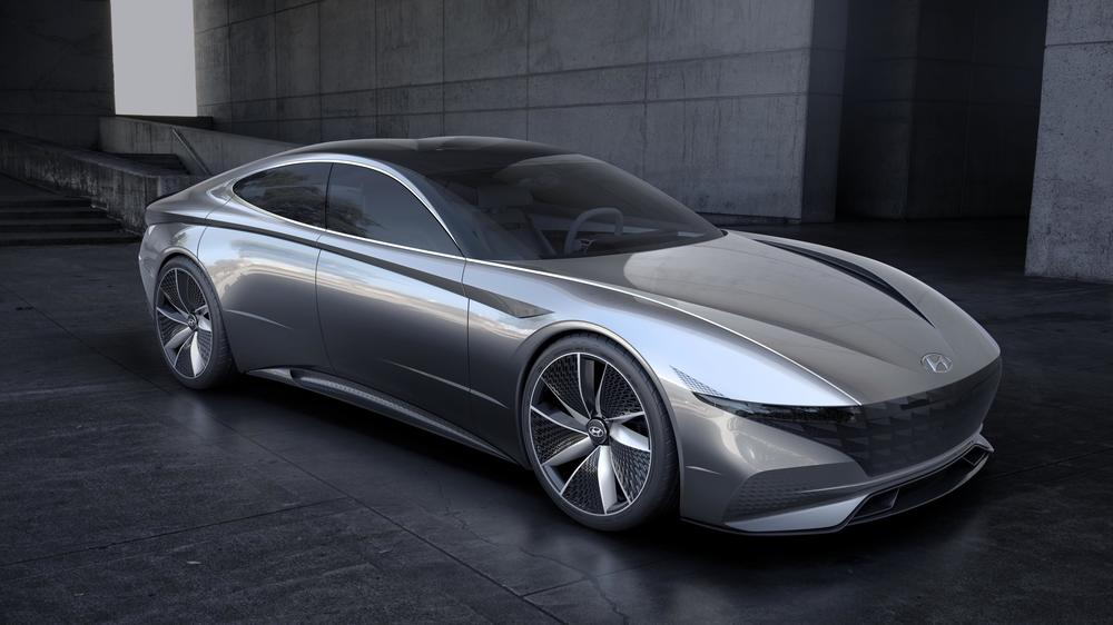 Hyundai Le Fill Rouge Vision Concept