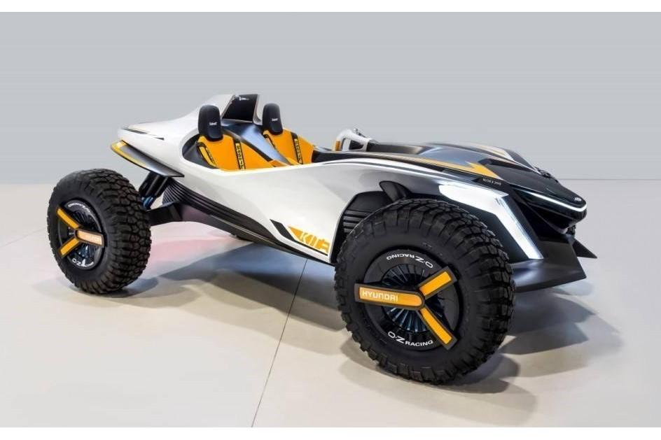 Hyundai Kite, o buggy elétrico que se transforma numa mota de água
