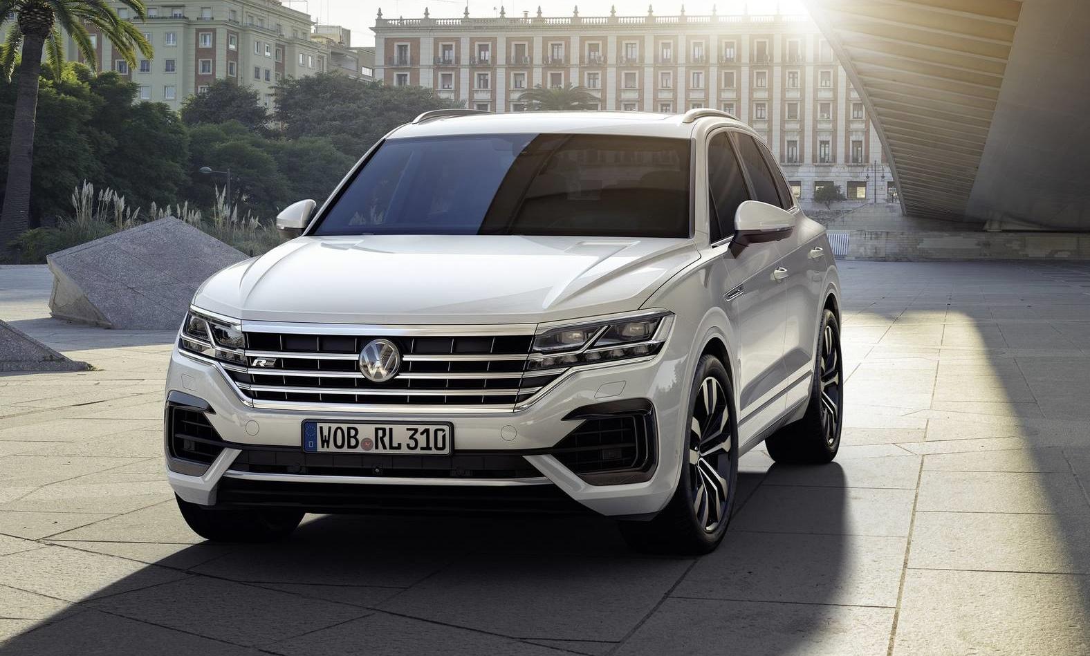 Está aí o novo Volkswagen Touareg