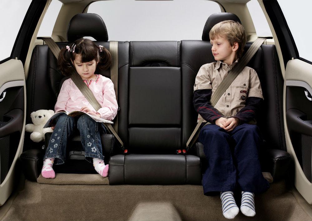 5. Virar para trás por causa de crianças (19%)