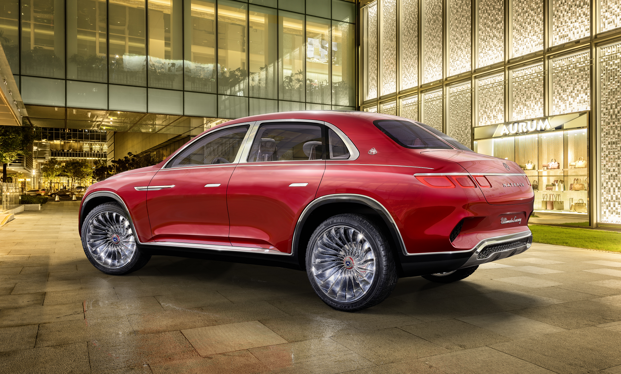 Apresentação mundial do Vision Mercedes-Maybach Ultimate Luxury