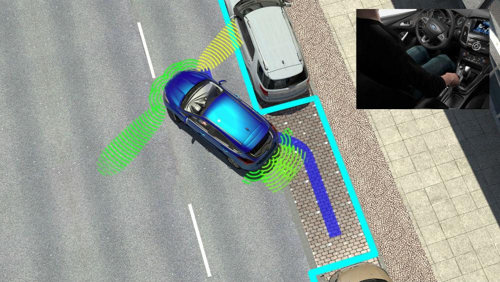 Os melhores sistemas na ajuda ao estacionamento