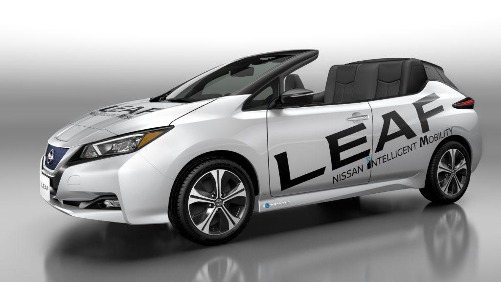"""Nissan mostra uma versão """"Ar Livre"""" do novo Nissan LEAF"""
