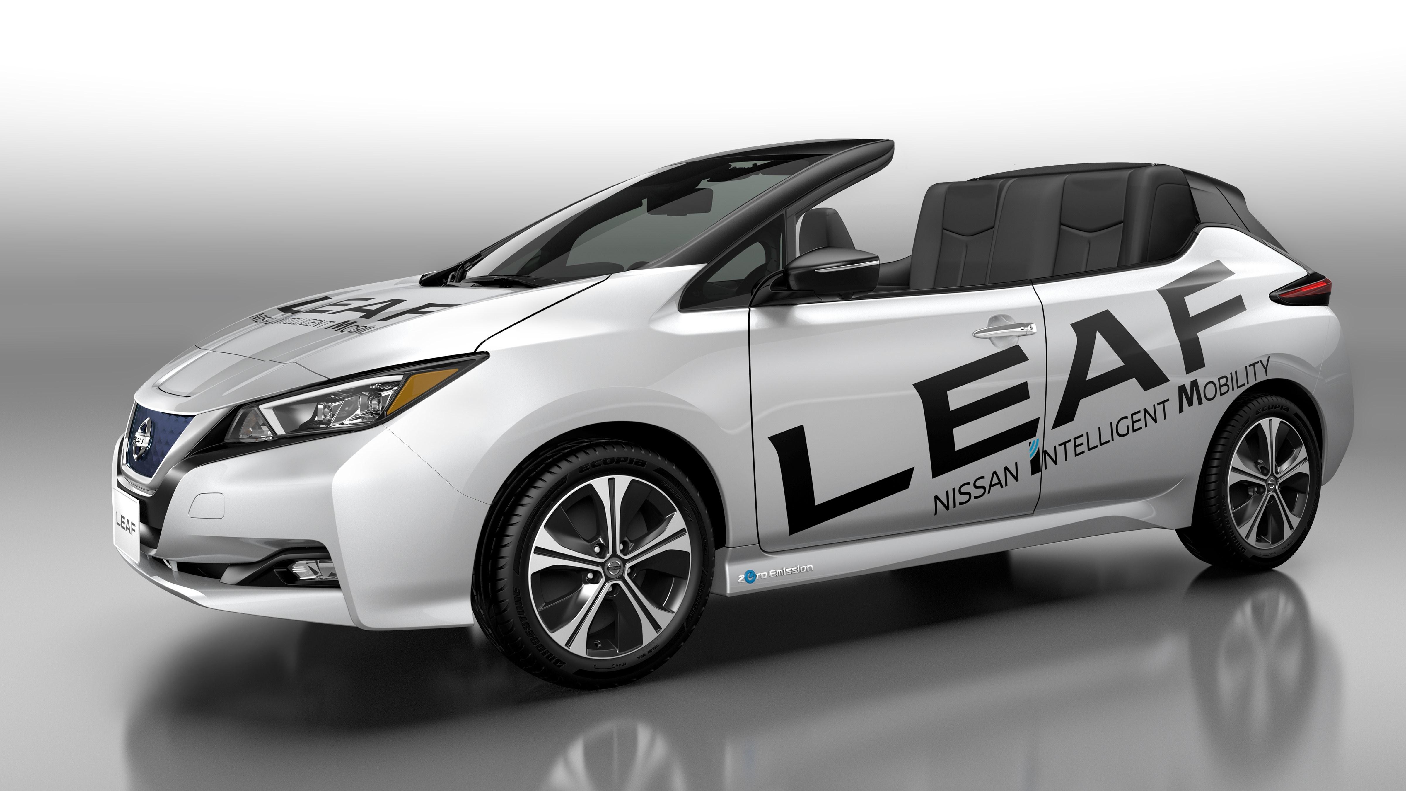 Nissan revela protótipo LEAF Open Car