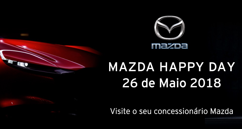 """Mazda Happy Day"" decorre no próximo Sábado"